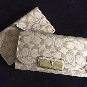COACH wallet & checkbook